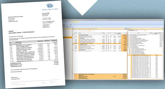 Software für Angebot und Rechnung