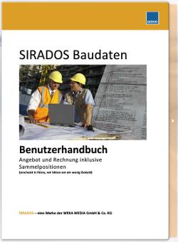 SIRADOS Angebot und Rechnung inkl. Sammelpositionen Handbuch