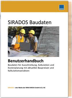SIRADOS Baudaten Handbuch