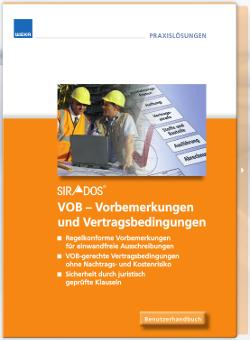 VOB-Vorbemerkungen und Vertragsbedingungen Handbuch
