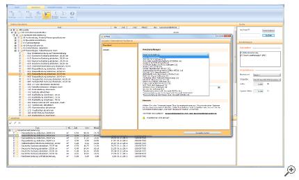 Perfekte Integration in AVA-Programme