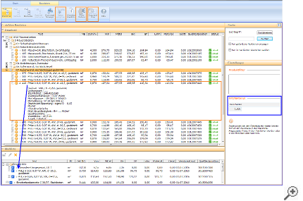 Anzeige der abgerufenen Daten im Stammdatenfenster