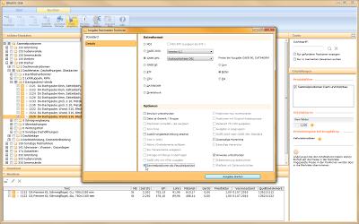 Datenausgabe für alle Standardformate
