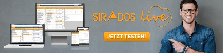 SIRADOS Live jetzt testen