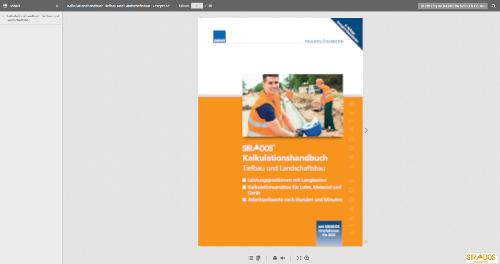 Leseprobe Kalkulationshandbuch Tiefbau und Landschaftsbau