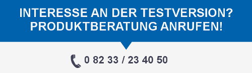 Interesse an der Testversion