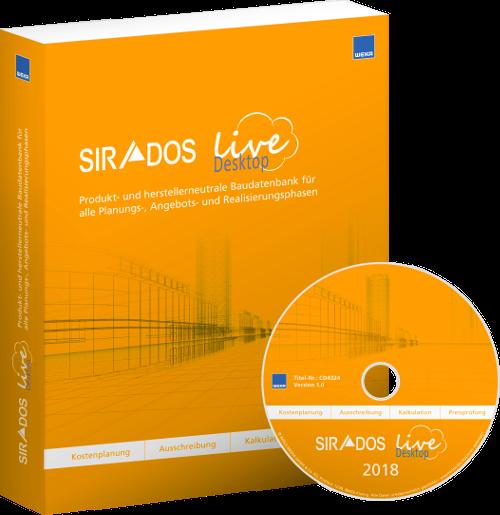 Produktabbildung SIRADOS LIVE