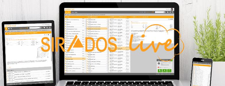 Neuer webbasierter Datenservice von SIRADOS