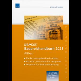 SIRADOS Baupreishandbuch Altbau