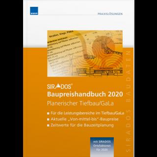 SIRADOS Baupreishandbuch Planerischer Tiefbau/GaLa