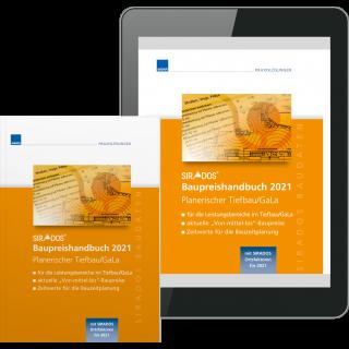 SIRADOS Baupreishandbuch Planerischer Tiefbau/GaLa inkl. Webviewer
