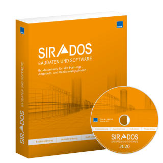 SIRADOS - Kalkulationsdaten Mauerwerksbau/Stahlbetonbau