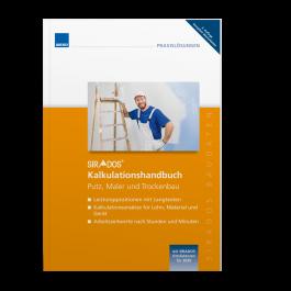 Kalkulationshandbuch Putz, Maler, Trockenbau