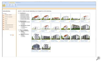 Gebäudetyp auswählen