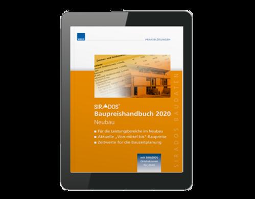 Baupreishandbücher mit E-Book 2020